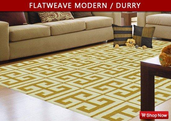 Modern flatweave Carpets